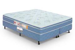 Colchão Castor de Espuma D45 Sleep Max Euro 25cm  Duplo Selado INMETRO e INER - Colchão Solteiro - 0,88x1,88x0,25 - Sem Cama Box