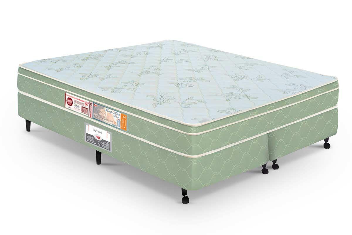 Colchão Castor de Espuma D33 Sleep Max Euro Duplo 25cm Selado INMETRO e INER - Colchão Castor