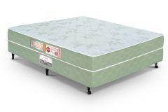 Colchão Castor de Espuma D33 Sleep Max Euro Duplo 25cm Selado INMETRO e INER - Colchão Solteiro-0,88x1,88x0,25-Sem Cama Box