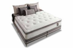 Colchão Herval de Molas Pocket Comfort Master Pillow Top One side - Colchão Queen Size - 1,58x1,98x0,36 - Sem Cama Box