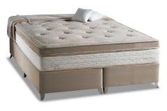 Colchão Herval de Molas Pocket Eruditto c/ Massagem Euro Pillow - Colchão Casal - 1,38x1,88x0,36 - Sem Cama Box