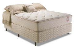 Colchão Herval de Molas Pocket Summer Aloe Comfort Pillow Top One side - Colchão Casal - 1,38x1,88x0,30 - Sem Cama Box
