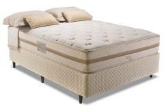 Colchão Herval de Molas Pocket Davos Comfort Pillow Top One side - Colchão Herval