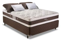 Colchão Herval de Molas Pocket Doble Comfort Pillow Top Duplo - Colchão Casal - 1,38x1,88x0,30 - Sem Cama Box