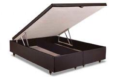 Cama Box Baú Herval MH 1449 - Cama Box Solteiro - 0,88x1,88x0,35 - Sem Colchão