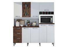 Cozinha Completa Valdemóveis Criative (Paneleiro+Armário+Gabinete) - Móveis Valdemóveis