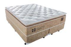 Colchão Sealy de Molas Posturepedic Doux Confort Euro Pillow - Colchão Sealy