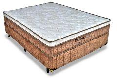 Colchão Probel de Molas Pocket Springs Luxo Pillow Top - Colchão Solteiro - 0,88x1,88x0,28 - Sem Cama Box