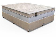 Colchão Orthoflex de Molas Pocket Naturale Euro Pillow - Colchão Casal - 1,38x1,88x0,32 - Sem Cama Box