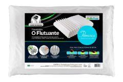 Travesseiro Fibrasca Smart Flutuante Espuma Open Cells c/ Íons de Prata Lavável p/Fronha 50x70 - Travesseiro Fibrasca