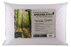 Travesseiro Fibrasca AmazonLátex Médio c/ Capa de Fibra de Eucalipto - Travesseiro Fibrasca