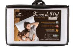 Travesseiro Fibrasca Silicomfort Favos de Mel INTENSE D30 - Travesseiro Fibrasca