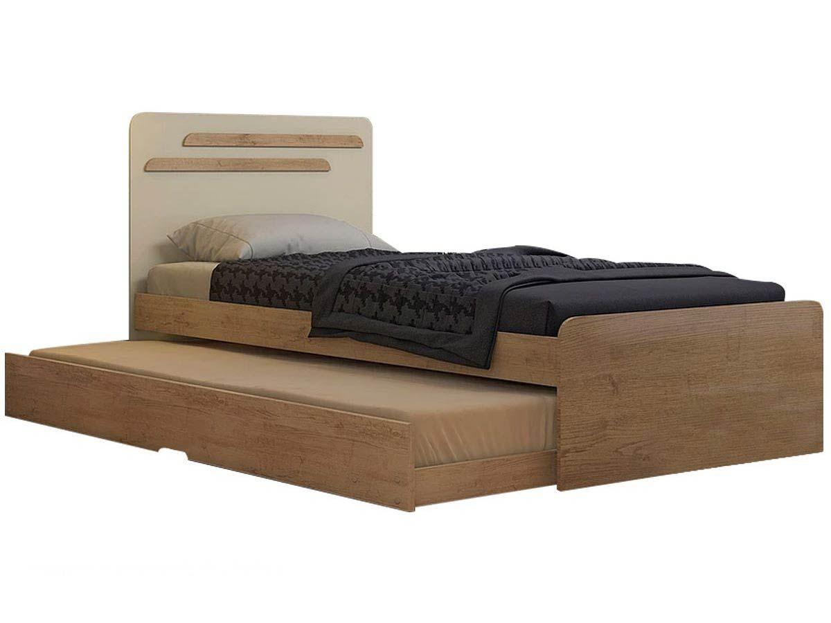 Bicama de solteiro conquista luana cama solteiro auxiliar for Camas de 1 20