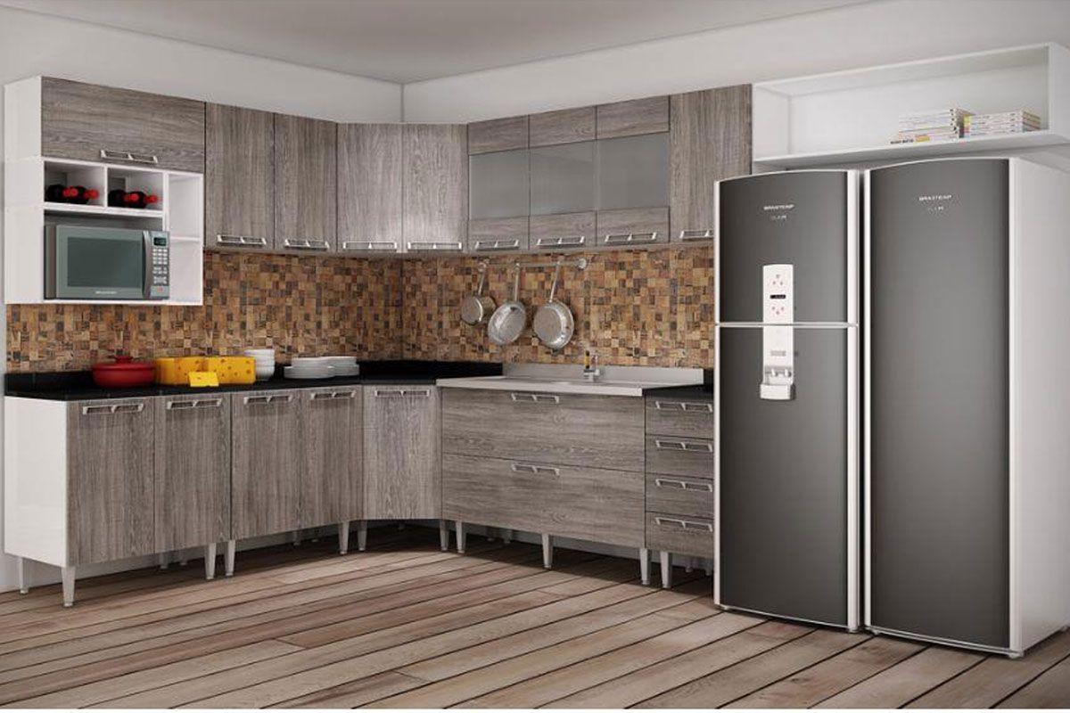 Cozinha Completa Art In M Veis Mia Coccina C 17 Pe As Cz47 Na Costa