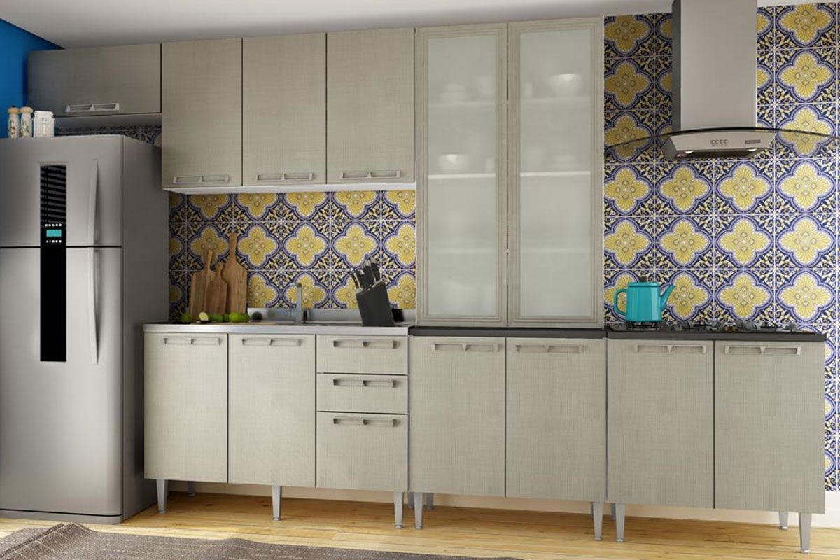 Cozinha Completa Art In M Veis Mia Coccina C 8 Pe As Cz52 S Pia Na