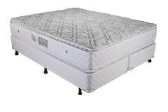 Colchão Luckspuma de Molas Bonnel Trade Pillow Top White - Colchão Luckspuma