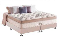 Colchão Anjos de Molas Pocket Felicite Látex Soft Euro Pillow - Colchão Casal - 1,38x1,88x0,38 - Sem Cama Box