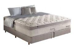 Colchão Anjos de Molas Pocket Impressione Visco Látex Euro Pillow - Colchão Casal - 1,38x1,88x0,42 - Sem Cama Box