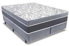 Colchão Anjos de Molas Superlastic All Star Fibra Siliconada Euro Pilow - Colchão Solteiro - 0,88x1,88x0,32 - Sem Cama Box