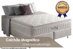 Colchão Anjos Confort Magnético Terapêutico c/ Infravermelho Longo - Colchão Casal - 1,38x1,88x0,32 - Sem Cama Box