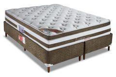Colchão Orthocrin de Molas Pocket Exception Plus Látex Euro Pillow Pró Saúde Selado INER - Colchão Solteiro-0,88x1,88x0,34 Sem Cama Box