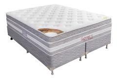 Colchão Orthocrin de Molas Pocket Supreme Plus Visco Pillow Top Pró Saúde Selado INER - Colchão Orthocrin