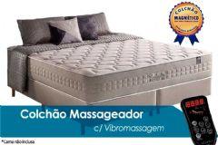 Colchão Anjos de Molas Pocket Commodite c/ Massagem Vibroterapêutica - Colchão Anjos