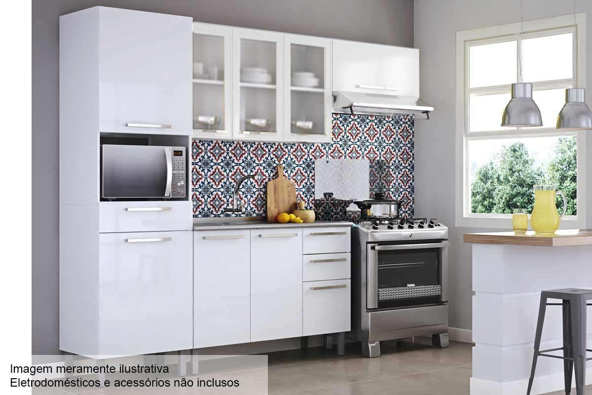 Cozinha Completa Itatiaia Dandara De A O Cz42 Na Costa Rica Colch O