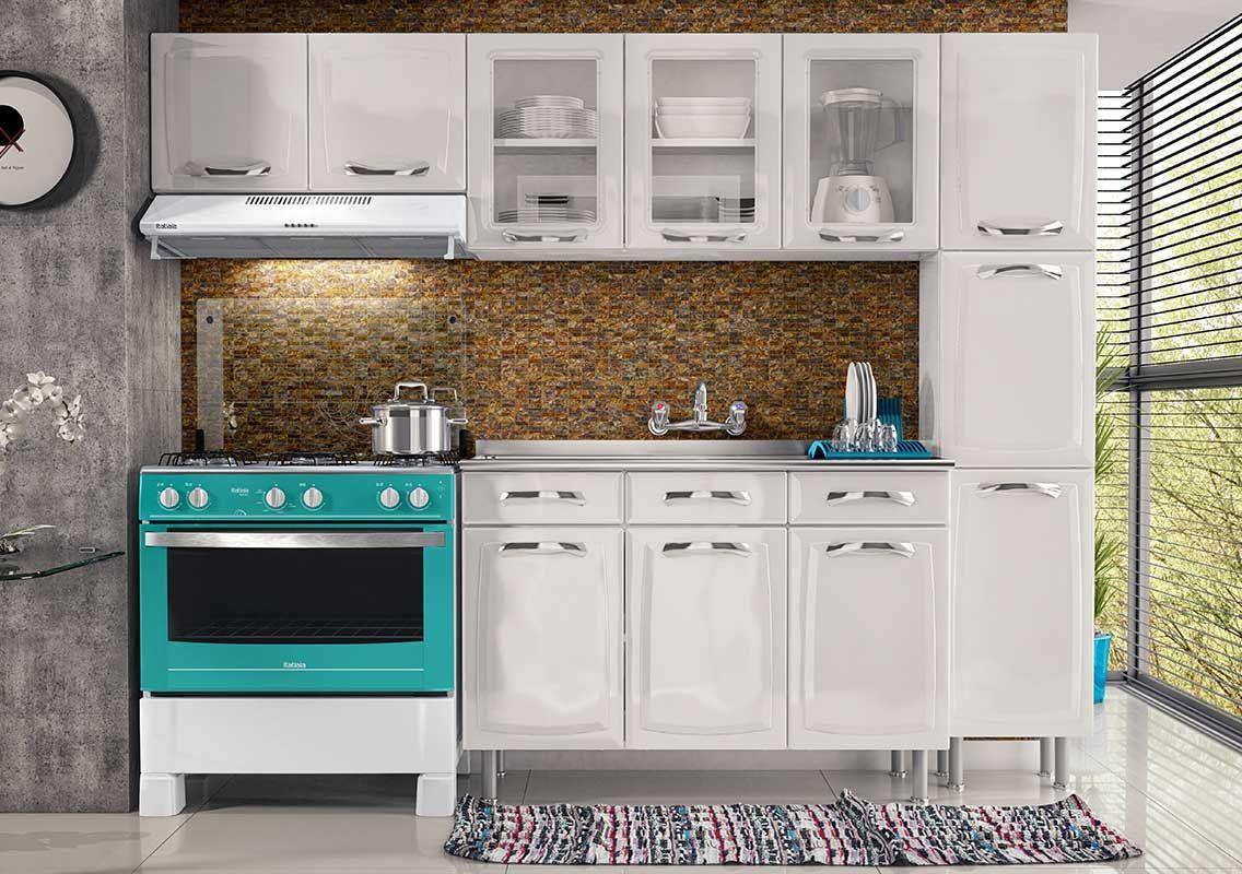 Cozinha Completa Itatiaia Premium De A O Cz55 Na Costa Rica Colch O