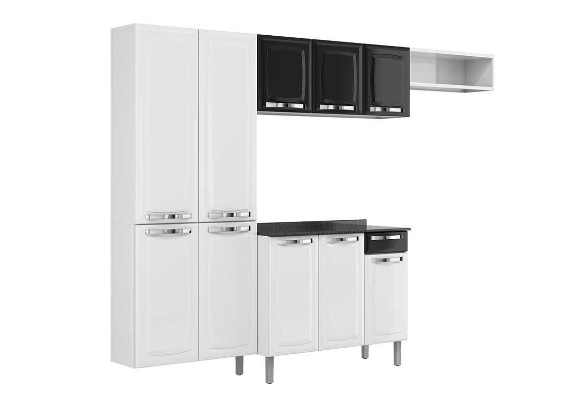 Cozinha Completa Itatiaia Rose COZ C/IG3G1 105 Aço (Paneleiro Nicho  #676863 1136 800