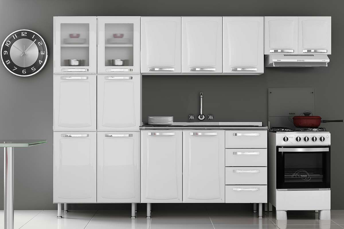 Cozinha Completa Itatiaia Itanew De A O C 4 Pe As Cz76 Na Costa