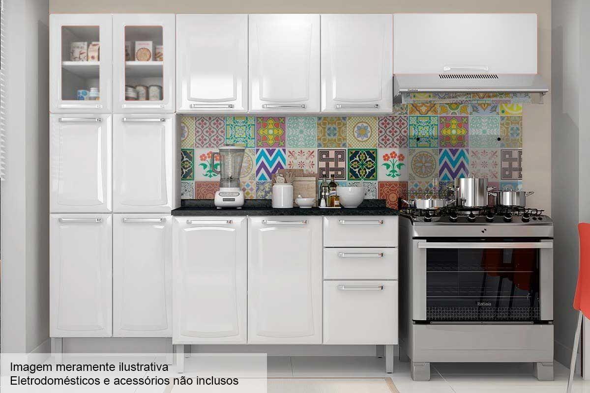 Image of: Cozinha Completa Itatiaia Tarsila De Aco C 4 Pecas Cz78 Na Costa Rica Colchao