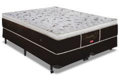 Colchão Pelmex de Molas Pocket Confort Bambu Euro Pillow - Colchão Solteiro - 0,88x1,88x0,35 Sem Cama Box