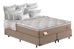 Colchão Pelmex de Molas Pocket American Extra Firme Pillow Top - Colchão Queen Size - 1,58x1,98x0,30 - Sem Cama Box