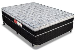 Colchão Pelmex de Molas Prolastic Max Sport Euro Pillow - Colchão Solteiro - 0,88x1,88x0,22 - Sem Cama Box