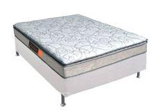 Colchão Pelmex de Espuma D33 Active Premium Extra Firme Pillow Top Selado INMETRO - - Colchão Solteiro - 0,88x1,88x0,24 - Sem Cama Box