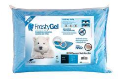 Travesseiro Fibrasca Frostygel Sensação Frescor Viscoelástico Block Base System p/Fronha 50x70 - Travesseiro Fibrasca