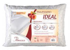 Travesseiro Fibrasca Pele de Pêssego Ideal Espuma T.Latex Altura Regulável p/Fronha 50x70 - Travesseiro Fibrasca