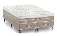 Colchão Castor de Molas Pocket Silver Star Air One Face Euro Pillow - Colchão Ortobom