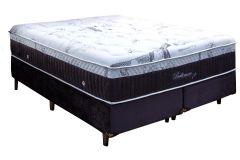 Colchão Simbal de Molas Pocket Baltimore Hi-tech Euro Pillow - Colchão Casal - 1,38x1,88x0,41 - Sem Cama Box