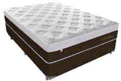 Colchão Plumatex de Molas Superlastic Duro Spring Euro Pillow - Colchão Casal - 1,38x1,88x0,30 - Sem Cama Box
