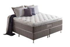 Colchão Anjos de Molas Pocket Confortable Pillow Top - Colchão Solteiro - 0,96x2,03x0,36 - Sem Cama Box