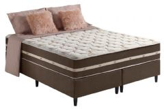 Colchão Anjos de Molas Superlastic Classic Euro Pillow - Colchão Solteiro - 0,88x1,88x0,26 - Sem Cama Box