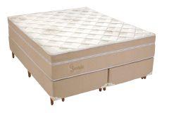 Colchão Polar de Molas Pocket Jasmin Euro Pillow - Colchão Solteiro - 0,88x1,88x0,30 - Sem Cama Box