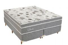 Colchão Polar de Molas Pocket Stella Euro Pillow - Colchão Solteiro - 0,88x1,88x0,30 - Sem Cama Box