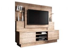Home Theater Linea Brasil Aron Smart p/ TV de até 55 Wood -