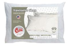 Travesseiro Castor Sleep Flocos de Látex -