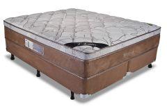 Colchão Luckspuma de Molas Pocket Maxi Prime New Pillow Top - Colchão Solteiro - 0,88x1,88x0,32 - Sem Cama Box
