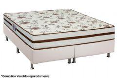 Colchão Anjos de Molas Pocket New  Viena Euro Pillow - Colchão Solteiro - 0,88x1,88x0,28 - Sem Cama Box