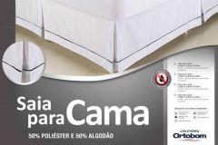 Saia Para Cama Box Ortobom - Solteiro  -  0,90 x 1,90